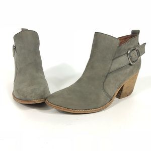 Jeffrey Campbell Jonas Short Buckle Bootie 9.5